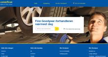 Goodyear lanserer neste generasjon av nettplattformen sin for å generere bedre muligheter for dekkforhandlerne