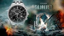 Klokkemerket Citizen er stolt samarbeidspartner av årets store norske film - Skjelvet.