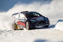 Stjärnspäckat startfält i RallyX On Ice-premiären i Piteå