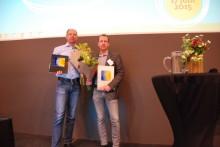 Två värdiga vinnare av Skåne Solar Award 2015