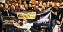 Skäggfest i Spånga drar skägg från hela Sverige