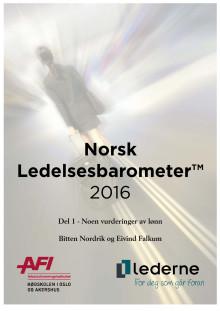 Norsk Ledelsesbarometer 2016 - lønn