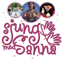 Sjung med Sanna – teckensång för de allra minsta! Nu med Allsång!