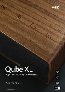 Qube XL High End Streaminglautsprecher aus Massivholz