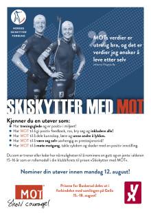 Skiskytter med MOT til Geilo 15.-18. august