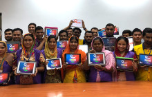 100 000 people trained using QuizRRs digital training solution