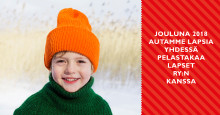 Empower tukee Pelastakaa Lapset ry:n työtä jouluna 2018