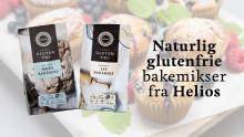 Nye bakemikser fra Helios: Naturlig glutenfri og rik på fiber