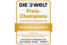 Preisgestaltung, die begeistert: Deutschlands Preis-Champions 2019 gekürt