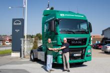 50 miljørigtige MAN lastbiler til grøn virksomhed