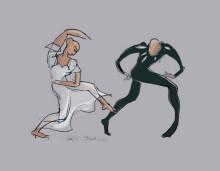 Får jag lov? Jurybedömd salong med tema dans, 17 november - 16 december 2018