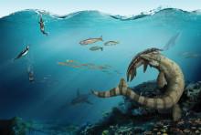 Dinosauriejakt på nationell invigning av Geologins Dag