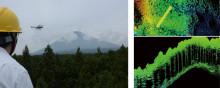 愛媛県での無人ヘリによる森林状況調査の実施について