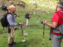 Överlevnadsexperten Les Stroud i Karpaterna