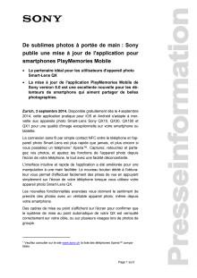 Communication de presse_PlayMemories MobApp5_F-CH_140903