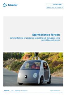 Rapport om självkörande fordon