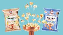 Smaksatta popcorn från OLW