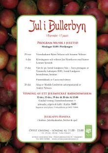 Program Musik i Juletid på Astrid Lindgrens Näs 2009