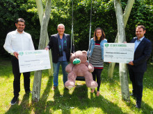 DHfK-Handballer spenden 13.000 Euro an Bärenherz