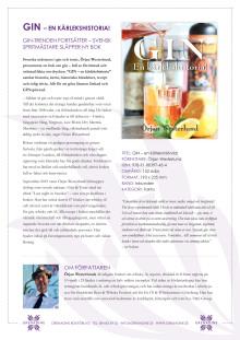 Pressmaterial Gin en kärlekshistoria