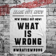 """Mustasch släpper ny singel """"What Is Wrong"""" och startar kampanj"""