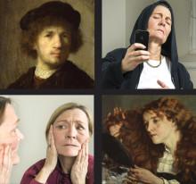 Föreläsning Selfies - nu och då