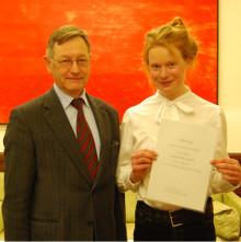 Handelsstudent tilldelas stipendium för projekt i New York