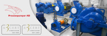 Processpumpar AB certifierade enligt ISO 9001 och ISO 14001