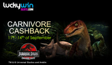 It's time for Carnivore Cashback at Lucky Win Slots   LuckyWinSlots.com