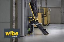 Wibe Ladders lanserer arbeidsbukk med sammenleggbart rekkverk
