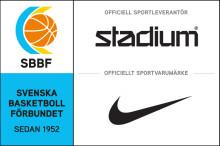 Stadium och Nike officiella leverantörer till Svenska Basketbollförbundet