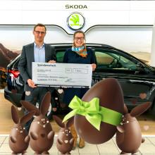 Auto-Center Weber sammelt Spenden für das Kinderhospiz Bärenherz