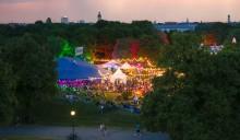 Kultur og økologi på Tollwood-Festivalen