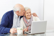 Nettdatere over 75 år øker markant