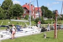 Göta kanal summerar säsongen 2014 - Göta kanal som besöksmål fortsätter att växa