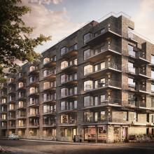 Aros Bostad tecknar avtal med RO-Gruppen avseende nyproduktion av 118 lägenheter på Gärdet i Stockholm