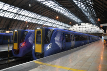 Apprentices glimpse new commuter trains for Scotland