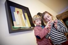 Egen kunst-app for barn på museumsbesøk