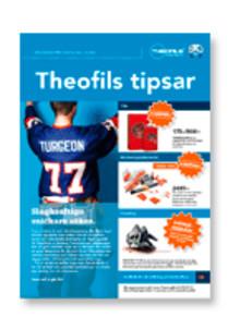 Nytt nummer av Theofils Tipsar