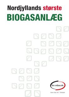Fakta ark - GrønGas Vrå - biogas-anlæg