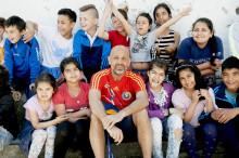 Skolbarn i Nacka möter sina barnrättshjältar