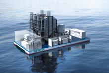 Siemens levererar flytande kraftverk med två gasturbiner från Finspång till Dominikanska republiken