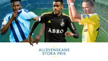 De kan vinna Allsvenskans mest prestigefyllda pris i direktsändning