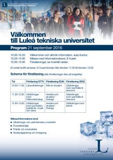 Program för besöksdagen