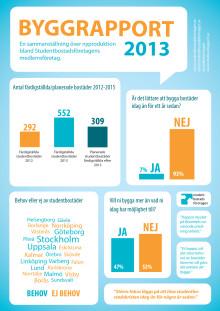 Byggrapport 2013 - Infografik