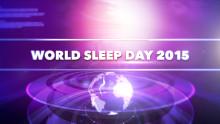 Inbjudan till World Sleep Day 13 mars 2015 - Tema telemedicin
