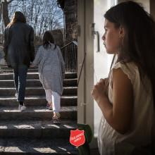 Ny kampanj där Frälsningsarmén vill sätta punkt för utsattheten, som drabbar många familjer, barn och äldre.
