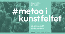 Nasjonalmuseet og Kunstkritikk inviterer til debatt 22. mars:  #metoo i kunstfeltet