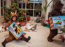 Hele 60 000 tonn emballasje blir med hjem i jula