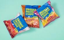 Äntligen ett salt snacks för träningsälskaren – chips med 45% protein från Swebar!